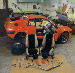 Mk2 Gold kit as built by Russell Bulgin for Cars & Car Conversions Magazine in 1982