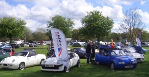 Club meets, like the Stoneleigh show, are good places to buy and sell cars.
