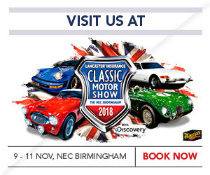 Lancaster Insurance Classic Motor Show with Discovery @ National Exhibition Centre - Hall 5 | Marston Green | England | United Kingdom